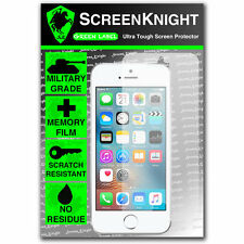 ScreenKnight Apple iPhone SE FRONT SCREEN PROTECTOR invisible MILITARY shield