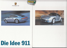 Porsche 911 Carrera Turbo 993   Prospekt Brochure 04 - 1996  - 94 Seiten