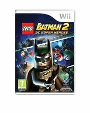 Game nintendo wii lego batman 2 II DC super heroes new