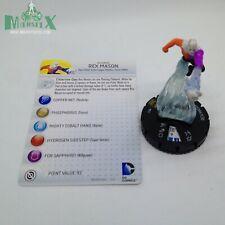 Heroclix Batman set Rex Mason #051 Super Rare figure w/card!