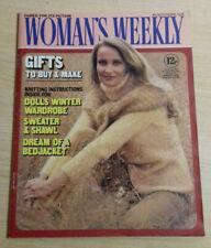Vintage Woman's Weekly 4th November 1978