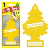 Air Freshener - LITTLE TREES 'Tree' - 'Vanilla' Fragrance MTR0001 - For Car Home
