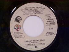 """LARRY GRAHAM & GRAHAM CENTRAL STATION """"SNEAKY FREAK / MONO"""" 45 MINT PROMO"""