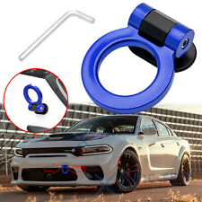 JDM Blue Racing Track Style Tow Hook Ring Look Decor For Doge Charger Challenger