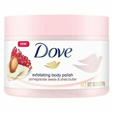 Dove Exfoliating Body Polish Pomegranate Seeds and Shea Butter pack of 1
