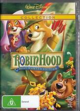 ROBIN HOOD MOST WANTED EDITION -DISNEY-NEW & SEALED REGION 4 DVD FREE LOCAL POST