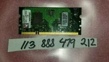 512MB 1RX16 PC2-6400 S DDR2-800 PC 6400 200PIN SODIMM NON-ECC 1.8VOLT  64X16