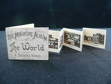 """c.1890 """"The Miniature Album of the World"""" Printed Booklet of Views"""