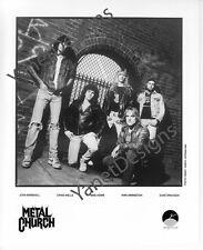 Metal Church Photo John Marshall Mike Howen Press Promo 8x10