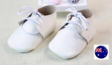 Boys' Leather First Baby Shoes