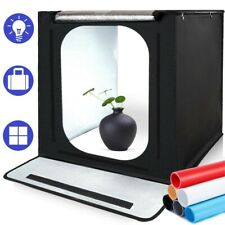 Photo Light Box SAMTIAN Portable 16x16x16 Inches Photography Studio Light Box...