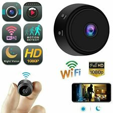 Mini HD Camera1080p Indoor WiFi Smart Home Security Cam Pet Cam Night Vision USA