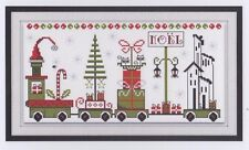 El Cha Ca Cha del Tren - cross stitch chart - Maggi Co's Village
