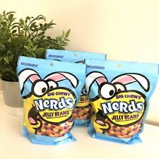 Nerds Big Chewy Jelly Beans Easter Candy Bumpy Shell 12 oz (3 Pack) Exp 11/2020