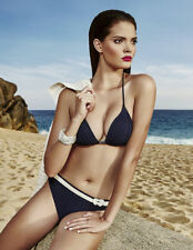 Patternless Synthetic Swimwear Bikini Sets for Women