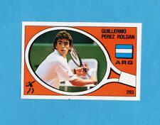 SUPERSPORT 1988-PANINI 88-Figurina n.203- ROLDAN - ARGENTINA -TENNIS-Rec