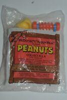 Vintage 1989 Peanuts Charlie Brown's Tilling McDonalds Happy Meal Toy MIB Sealed