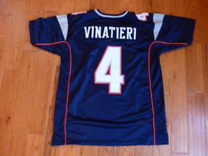 Adam Vinatieri Patriots Custom Sewn Jersey Size XL