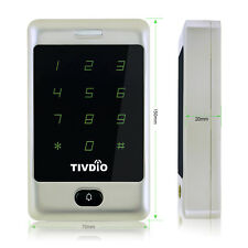 Touch Tastatur Türöffner Zutrittskontrolle125KHz Hintergrundbeleuchtung RFID Neu