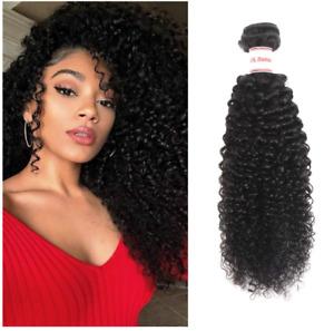 Ailisi Brazilian Virgin Kinky Curly Hair 2 Bundle 8A Unprocessed Brazilian Curly