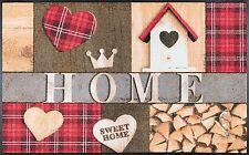 Fußmatte Wash Dry Design Cottage Home Ca. 75x120cm Waschbar matte