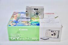 Vintage Japanese Canon IXY Digital 200 Mint Condition Complete Set(AKK)