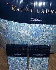 Ralph Lauren Meadow Lane 3 Pc King Size Comforter Set