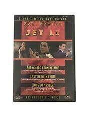 Jet Li - Bodyguard From Beijing/Last Hero In China/Kung Fu Master (Dvd, 2002,.