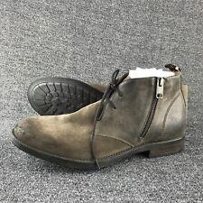 $395 NWT Mens Size 9 Diesel D-Deshort Brown Suede Ankle Boots