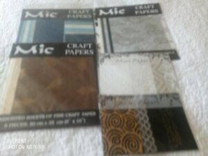 Beautiful Mic Craft Paper Pack & Mini Papers
