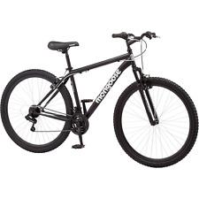 "29"" Men's Mongoose Excursion Black 21 Multi Speed Mountain Bike for Tall Riders"