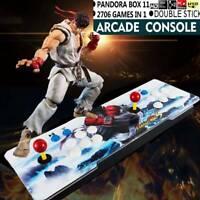 Pandora Box 11S 2706 Games in1 Retro Video Games Double Stick Arcade Console USA