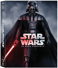 Star Wars - La Saga Completa (9 BRD) Blu-Ray - totalmente in italiano