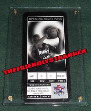 Rare TORONTO RAPTORS 1ST EVER GAME TICKET - NOV 3 1995 vs NETS INAUGURAL SEASON