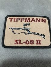 Tippmann SL-68 II Patch! OLD STOCK! TPI Factory, vintage, rare Paintball