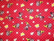 New Hand Crafted Minnie Mouse Red Big M Oversize Receiving Baby Blanket