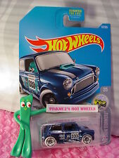 Morris Mini #137✰Blue;pr5 white; 333✰Hw Snow Stormers✰2017 Hot Wheels case F/G