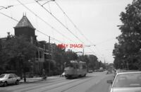 PHOTO  1990 NETHERLANDS DEN HAAG TRAM HTM GEESTBRUG TRAM NOS 1321 ON ROUTE NO 10