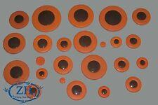 YAMAHA YAS-475 YAS-275 YAS-23 ALTO Saxophone Size Pads Brown Plastics Resonator