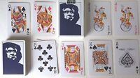 PLASTIC COATED 'MICHAUD' 54 (2 JOKERS) PLAYING CARDS - p04!!