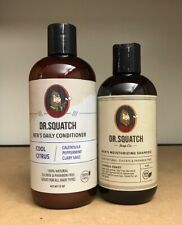 Dr. Squatch Hair Care Kit - Shampoo and Conditioner  ALL NATURAL FOR MEN