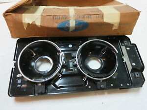 NOS 1970 Ford Galaxie LTD Country Squire station wagon headlight bezel frame
