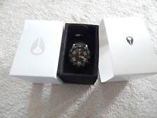 NEW Nixon Ranger Nylon Gunmetal Watch A942 1418 NEW NIB