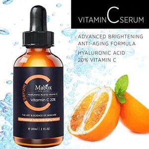 Vitamin C Mabox Whitening Serum Hyaluronic Acid Face Cream