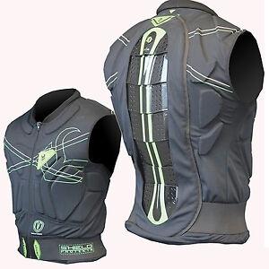 DEMON Shield Vest - Snowboard Top - Protection for Upper Body Torso, Spin