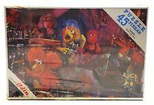 1984 Juegos Odín FRAGGLE ROCK MINI-PUZZLE #1 Spanish vintage SEALED 45 pcs