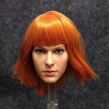 1/6 KUMIK Head Sculpt 15-6 Female Milla Jovovich head doll Realistic girl Headpl