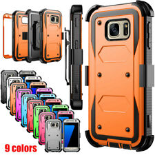 For Samsung Galaxy S7 Edge S8 S9 Note10 S20 Phone Case Rugged Holster Clip Cover