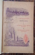 1902 ÉTAMPES PITTORESQUE Guide du promeneur Louette-Hurepoix-Chalouette RELIÉ