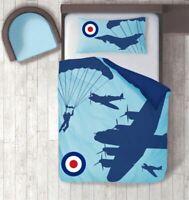 RAF Single Reversible Duvet Cover And Pillowcase Set